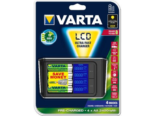 Ładowarka Varta LCD Ultra...