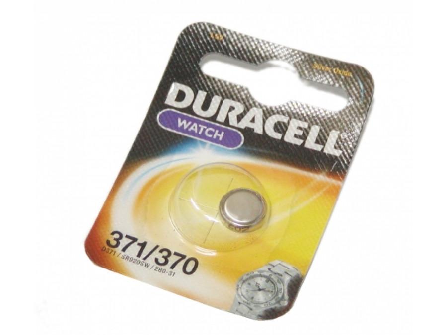 Bateria AG-6 D371 B-1 SR920 370 DURACELL 1,5V
