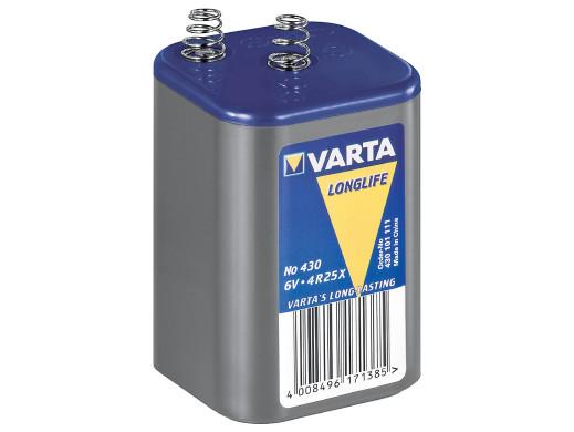 Bateria 4R25 Varta 7.5Ah 6.0V sprężyny