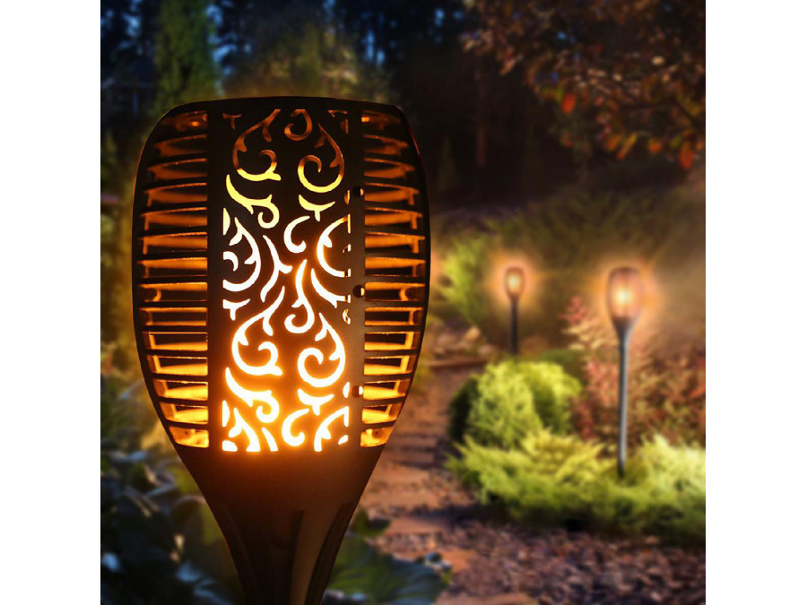Greenblue Pochodnia Solarna Lampa Ogrodowa Led Gb156