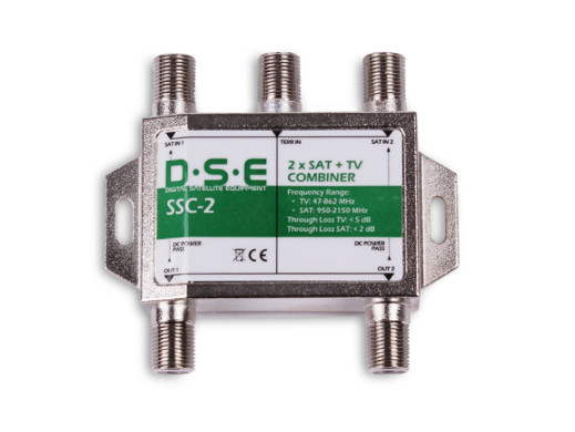 Sumator RTV/SAT x2 SSC-2 2...