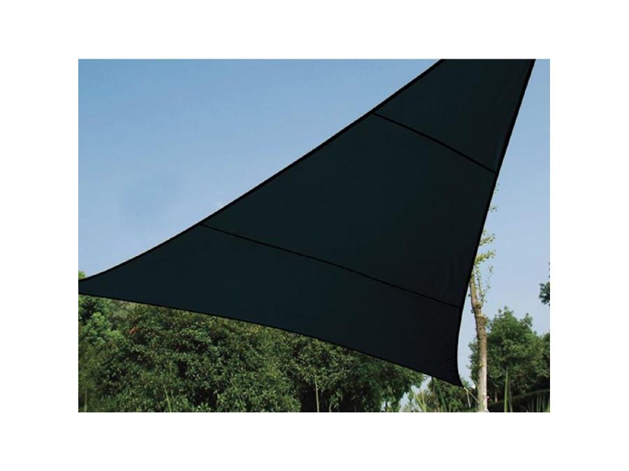 Żagiel ogrodowy przysłona UV 5m trójkąt grafitowy