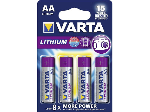 Bateria R-06 Lithium Varta
