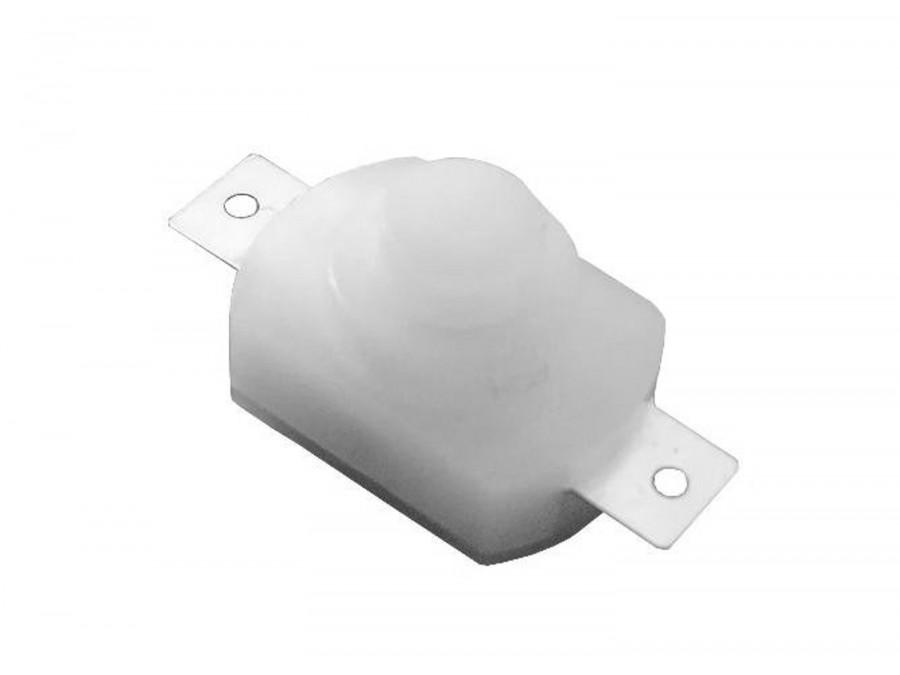Przełącznik wciskany PB-1208-2 Biały bistabilny ON-OFF 1A 30V
