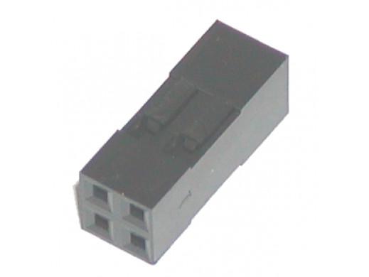Złącze BLD-04 gniazdo 4 pin 2x2 na kabel