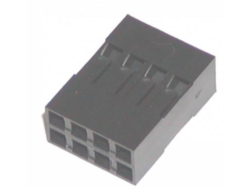 Złącze BLD-08 gniazdo 8 pin 2x4 na kabel