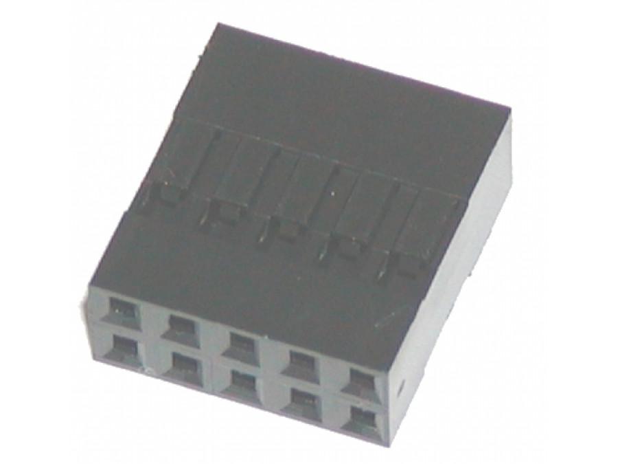 Złącze 130-A-D10 BLD-10 żenskie na kabel 2*5 pin