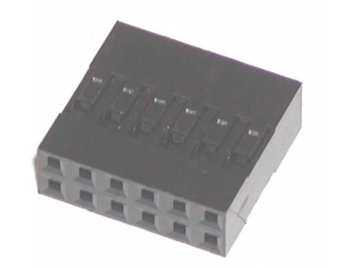 Złącze BLD-12 gniazdo 12 pin 2x6 na kabel
