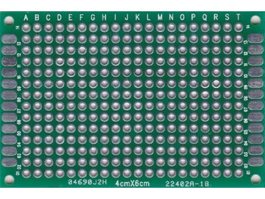 Płytka uniwersalna PI23Z 40x60mm dwustronna
