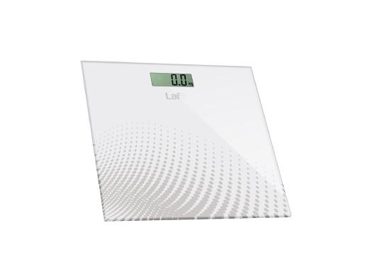 Waga łazienkowa Lafe WLS001.1, Biała (LAFWAG44590)