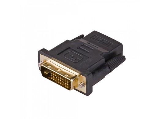 Adapter wtyk DVI Gniazdo HDMI AK-AD-41 24+1 Akyga