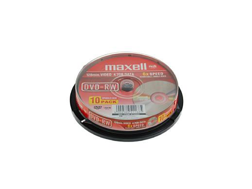 MAXELL DVD-RW 4,7GB 6X...
