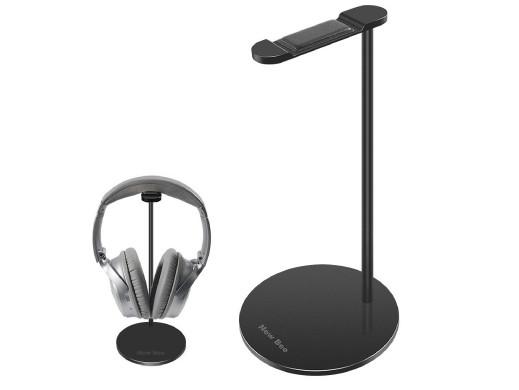 Stand stojak na słuchawki NEW BEE czarny