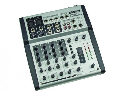 Mikser estradowy Promix 66 HQ POWER 6 kanałowy z echem