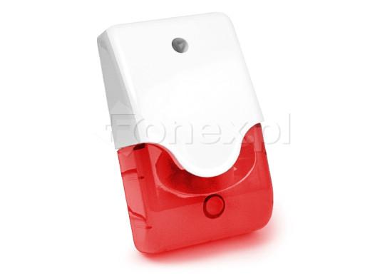 Sygnalizator LD-95 wewnętrzny akustyczny i optyczny czerwony
