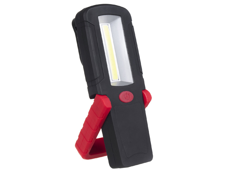 Lampa warsztatowa COB LED magnes, hak MCE221 3xAAA Maclean Energy