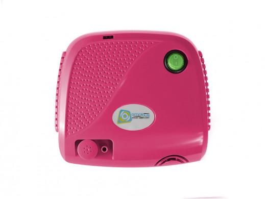 Inhalator BR-CN116B Omnibus różowy - Ślady użytkowania