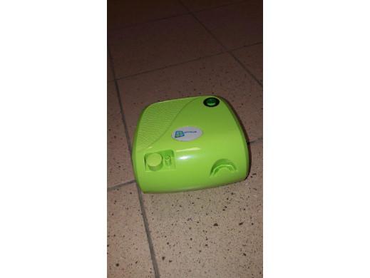 Inhalator BR-CN116B Omnibus zielony + zielona torba - Ślady użytkowania