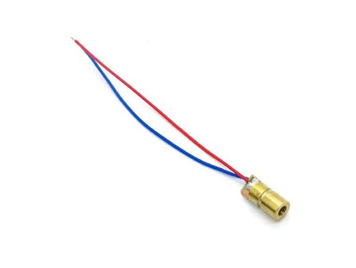 Laser 3-5V moc:5mW 650nm