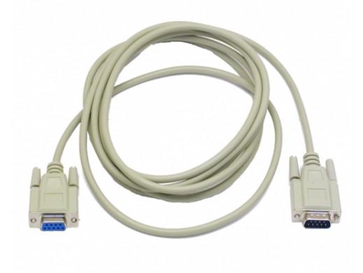 Przewód, kabel DB9M/DB9F 3m...