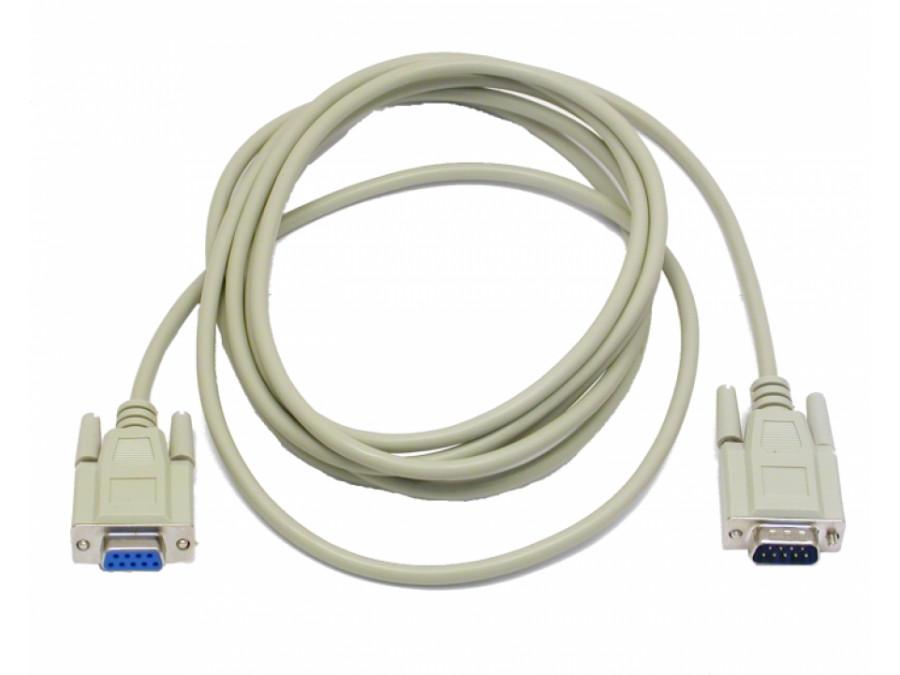Przewód, kabel DB9M/DB9F 3m NEWSTAR przedłużacz