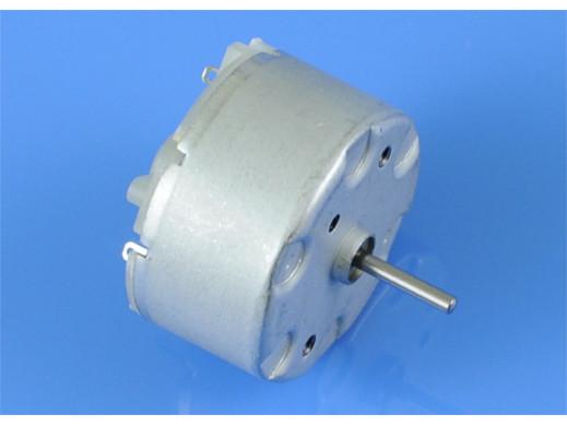 Silniczek 12V bez regulacji prędkości 32x23 wymiary średnica 32 długość 23mm długość osi 10mm