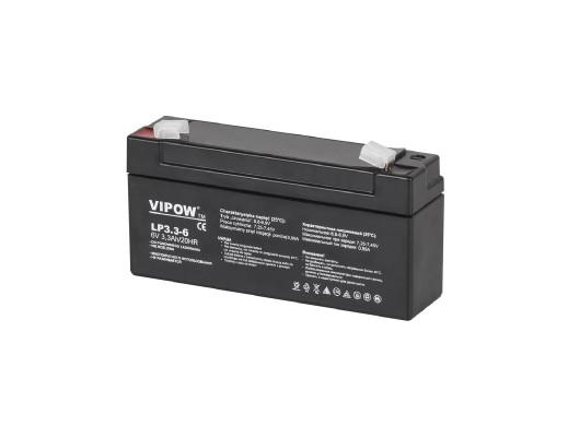 Akumulator żelowy 6V 3.3Ah Vipow
