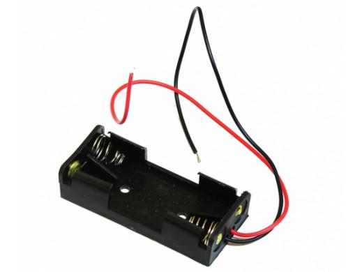 Pojemnik na baterie 2*R3 Typ2 z przewodami
