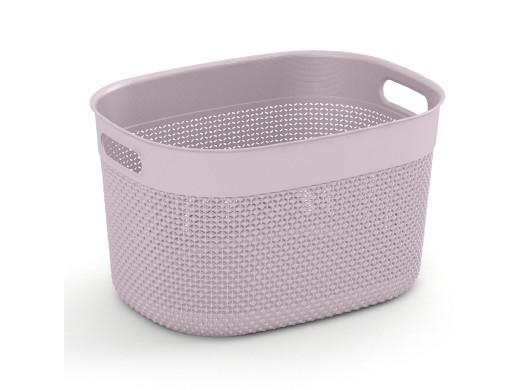 Koszyk Kis Filo L 18L różowy