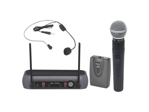 Zestaw mikrofonów bezprzewodowych Blow PRM 903