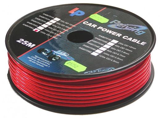 Kabel Power 12Ga 4.5mm CU 25m Peiying