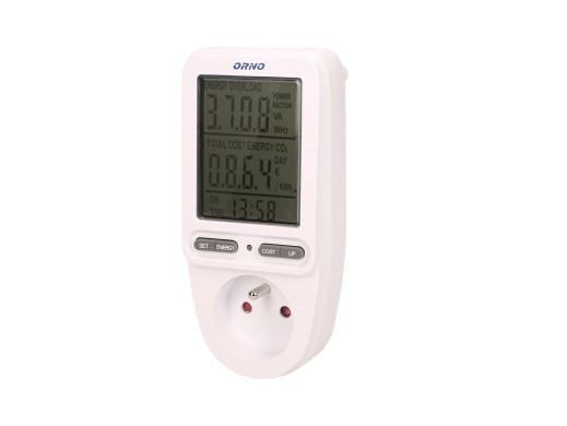 Watomierz kalkulator energii z LCD Orno OR-WAT-435