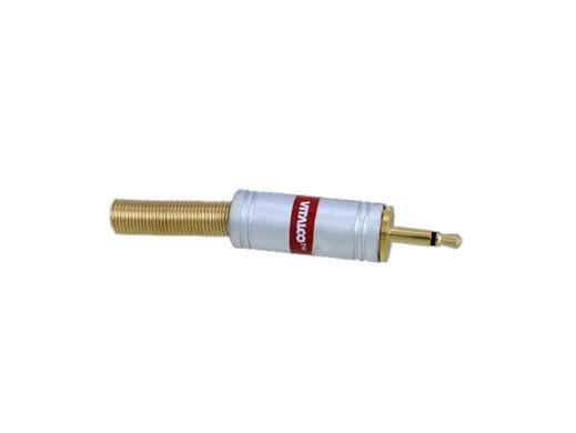 Wtyk jack 2,5mm mono JW012 chrome Vitalco