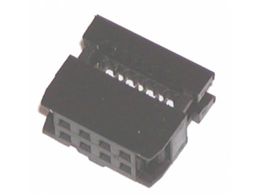 Złącze IDC wtyk FC08 8 pin 2x4 FC3008 na taśmę