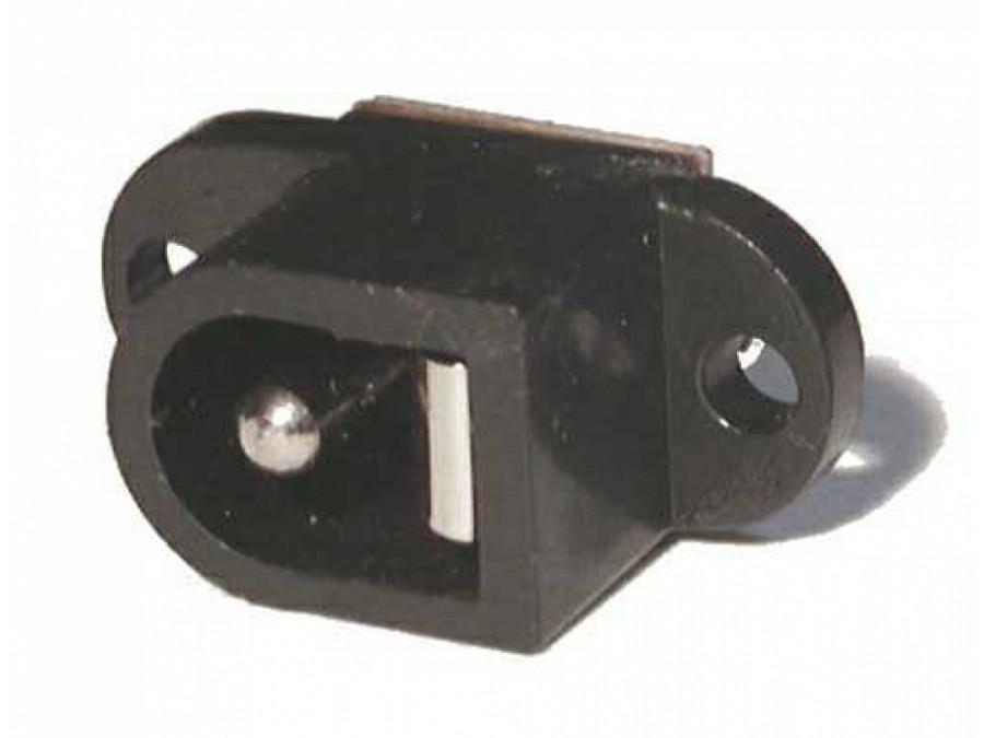 Gniazdo DC 2,1mm/5,5 do obudowy plastikowe