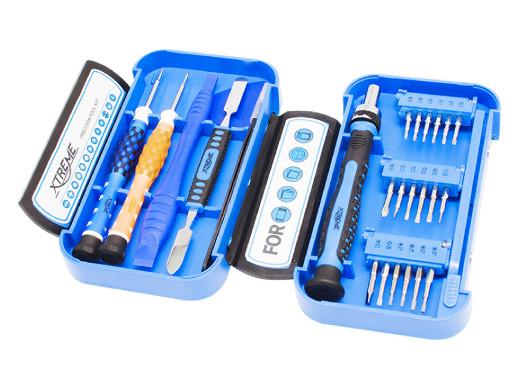 Zestaw śrubokrętów precycyjnych 24 elementów Xtreme