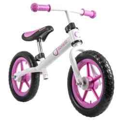 Rowerek biegowy Lionelo FIN różowy