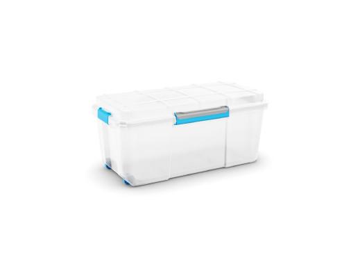 Skrzynka wodoodporna Kis Scuba Box L 80L IP44 przezroczysta