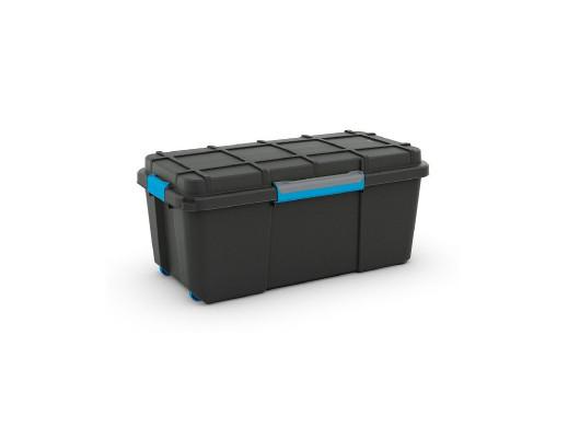 Skrzynka wodoodporna Kis Scuba Box L 80L IP44 czarna