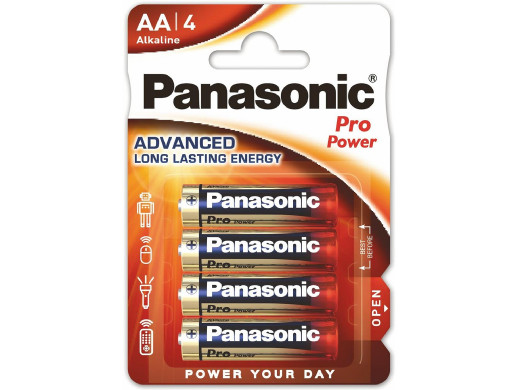 Baterie R-06 Panasonic PRO Power LR6/AA (4szt)