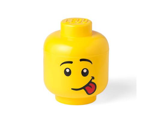 Pojemnik duża głowa Lego -...