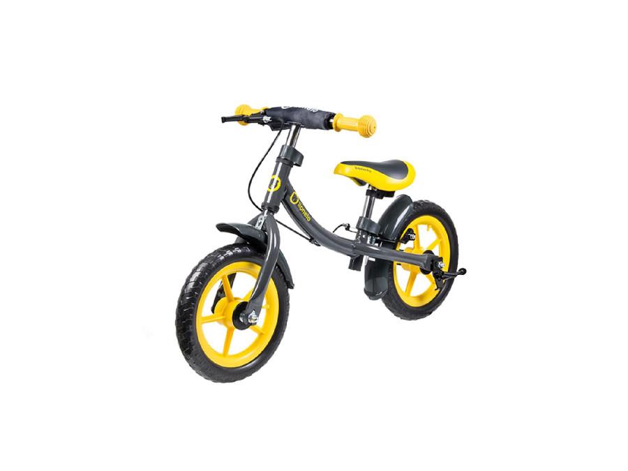 Rowerek biegowy Lionelo DAN PLUS żółty