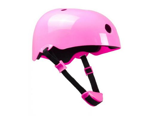 Kask Lionelo do rowerka biegowego różowy