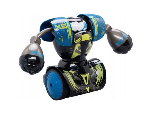 Robot interaktywny Silverlit Robo Kombat - zestaw treningowy niebiesko-czarny