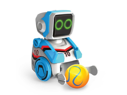 Robot interaktywny Silverlit Kickabot niebieski