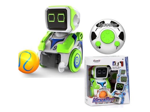 Robot interaktywny Silverlit Kickabot zielony