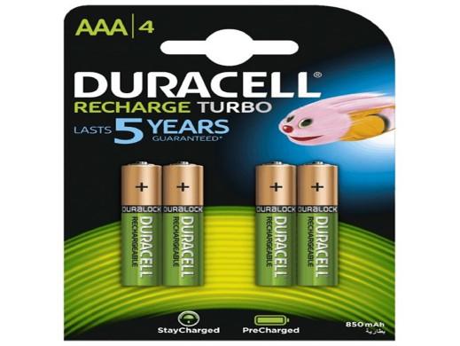 Akumulatorki Duracell...