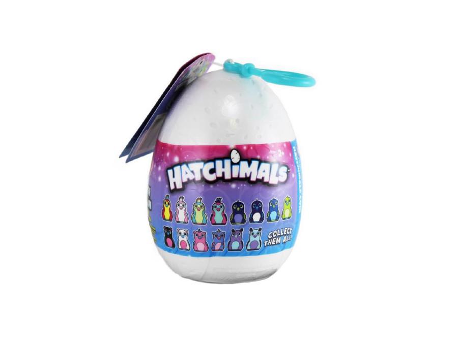 Pluszowy brelok w jajku Hatchimals 10cm mix