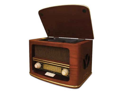 Radio retro CD/MP3/record Camry CR 1115