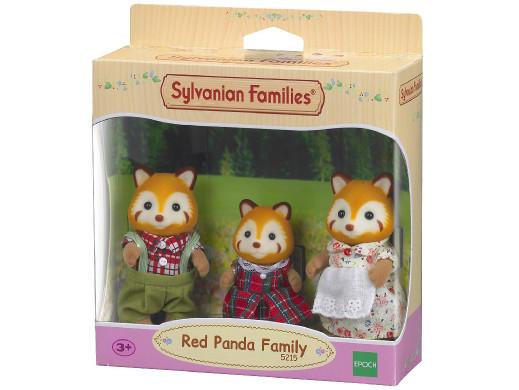 Figurki Sylvanian Families Rodzina rudych pandek